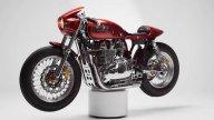 Moto - News: Tamarit Gullwing, la Triumph Thruxton 900 mette le ali