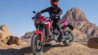 Moto - News: Honda Africa Twin, sempre più ammiraglia GT grazie ad Android Auto