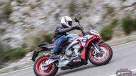 Moto - Test: Video prova Aprilia Tuono 660: foto e tutti i dettagli