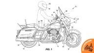 Moto - News: Harley-Davidson brevetta la frenata di emergenza assistita da radar