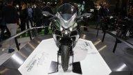 Moto - News: Kawasaki Ninja H2 SX, spunta una telecamera con il sistema radar