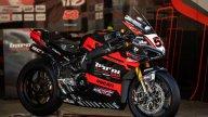 SBK: La Ducati si veste di nero, ecco la V4R del team Barni e di Tito Rabat