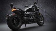 Moto - News: Triumph Rocket 3 R Black e GT Triple Black Limited Edition my2021: estremo esclusivo