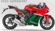 Moto - Gallery: Supersportive: i modelli di oggi con i colori di ieri