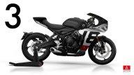Moto - News: Triumph Trident 660, la roadster si fa sportiva con carene plug&play