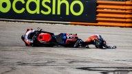MotoGP: PHOTOGALLERY - All the photos of Jorge Martìn's terrible flight