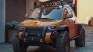 Auto - News: Fiat 500 Scoiattolo: il fuoristrada che non si ferma davanti a nulla!