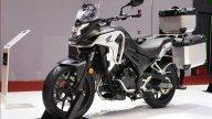 Moto - News: Honda CB400F e CB400X, presentate la naked e la crossover facili per tutti