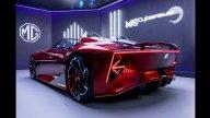 Auto - News: MG Cyberster Concept: la roadster elettrica futuristica