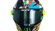 """MotoGP: """"MuuuuGello"""": una mucca sul casco, Rossi cita Elio per il GP d'Italia"""