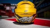 MotoGP: Pol Espargarò diventa un Minions spaventato al Mugello: ecco il suo casco