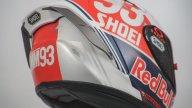 MotoGP: Marquez torna indietro nel tempo: un casco per i campioni del passato