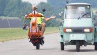 Moto - News: NON ENTRARE - Günther Schachermayr, lo stuntman in Vespa ha fatto la frittata