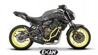"""Moto - News: Una nuova voce alla """"vecchia"""" Yamaha MT-07 con gli scarichi Exan"""