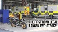 Moto - News: NON ENTRARE !!! Il 2 tempi stradale non è morto! Dall'Inghilterra arriva Langen