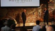 Moto - News: Da McGregor a Nespoli: 100 anni di storie firmate Moto Guzzi
