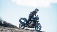 Moto - News: Una Harley-Davidson Pan America in fumo davanti a 5.000 persone