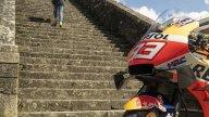 MotoGP: La Honda di Marquez va in vacanza: la RC213V sul Cammino di Santiago