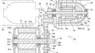Moto - News: Honda brevetta la moto elettrica a trazione integrale