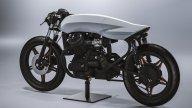 Moto - News: Biancaneve, la Honda CX500 special è una scultura di arte moderna