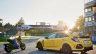 Moto - News: Ad Imola le Honda CB1000R Black Ed. e la Civic Type R L.E.