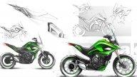 : Kawasaki: nel futuro moto adattive che si trasformano