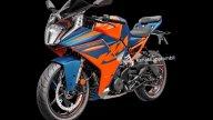 : KTM RC 390, prime foto ufficiali della piccola moto sportiva