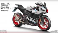 Moto - News: KTM RC 8C: ecco come potrebbe essere la versione stradale
