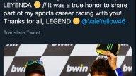 : Amici e rivali: l'omaggio sui social a Valentino Rossi