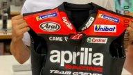 MotoGP: Maverick Vinales scalda i motori per Aragon: pronta la tuta Aprilia