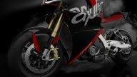 Moto - News: Aprilia Caponord V4: le idee di un designer italiano per la maxi di Noale
