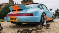 Auto - News: NON ENTRARE-Porsche 964: la conversione in elettrico, quanto dispiacere...