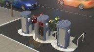 Moto - News: Bikers Guardian, il parcheggio anti-ladro che ricarica le moto elettriche