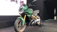 : Moto Guzzi V100 Mandello: arriva l'aerodinamica attiva