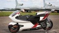 Moto - News: Ecco la moto elettrica che punta a stracciare il record di Max Biaggi