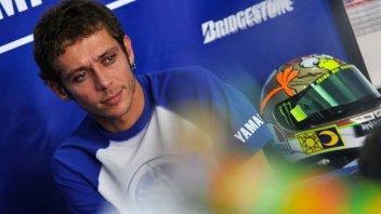 Rossi, spalla KO, obiettivo podio