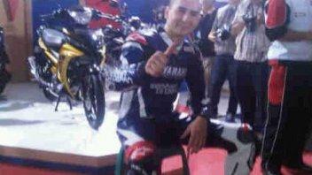 Moto - News: Lorenzo, Principe Azzurro Yamaha
