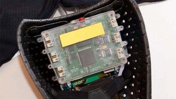 Moto - News: L'HRC usa l'airbag Alpinestars