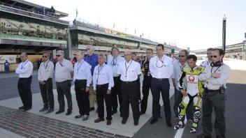 Moto - News: Castiglioni onorato a Indianapolis