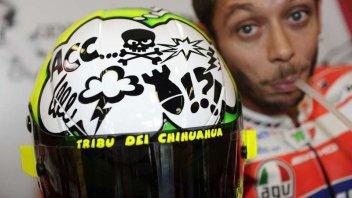 Moto - News: I pensieri di Rossi sul casco