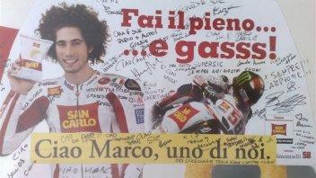 Moto - News: Nelle strade un saluto a Simoncelli