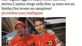 Moto - News: Max e Jorge, storia di una amicizia