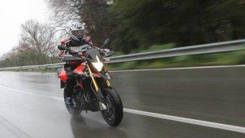 Moto - Test: Dorsoduro : una pioggia di emozioni