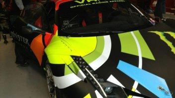 Moto - News: Ecco il Ferrarino di Valentino Rossi