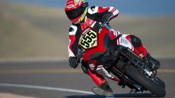 Moto - News: Ducati Multistrada domina a Pikes Peak