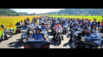 Moto - News: Harley-Davidson all'European Bike Week 2012