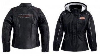 Moto - News: Harley-Davidson: nuove giacche uomo-donna e soluzioni per l'inverno