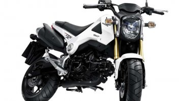 Honda MSX 125, la 'moto di scorta'