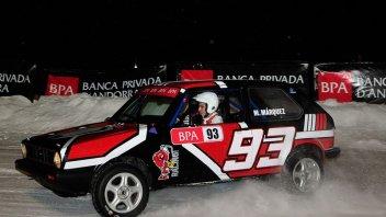 Moto - News: Marquez a 4 ruote: formica delle nevi