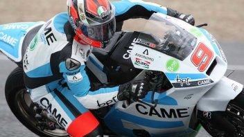 Moto - News: Petrucci prova il nuovo telaio Suter